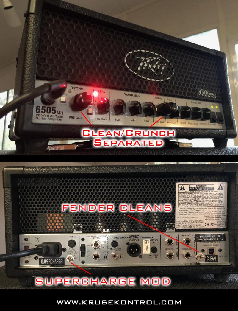 6505mh mods Jens Kruse Kontrol Amps Amplification