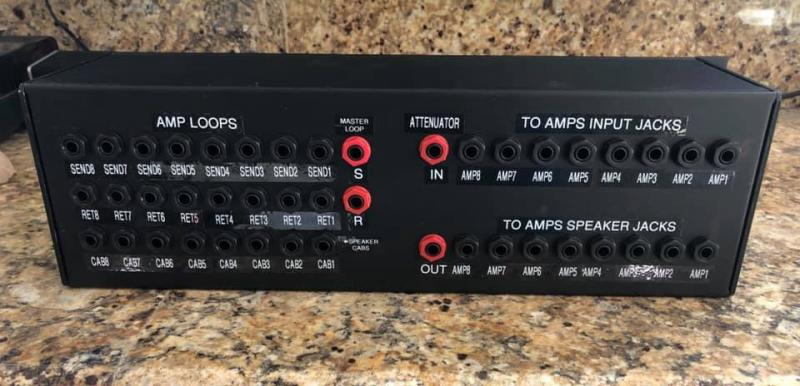 Kruse Amp Cabinet Router Switcher Unit Loop Sharing