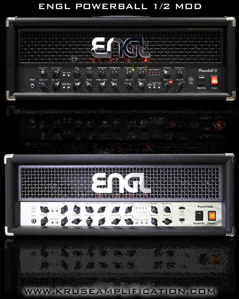 ENGL Powerball mod Jens Kruse Kontrol Amplification