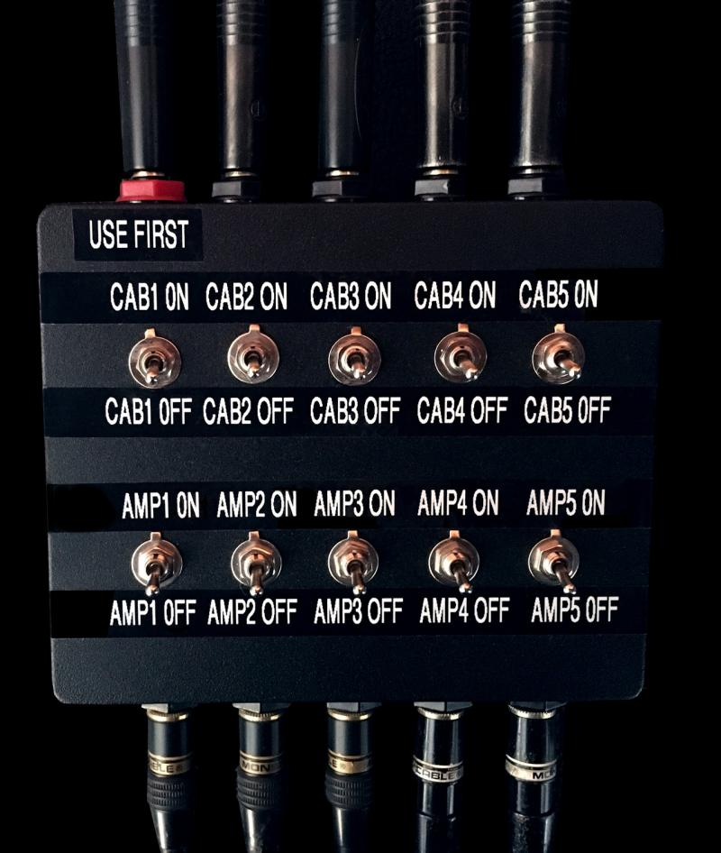 KRUSE amp cab switching router selector Unit 3