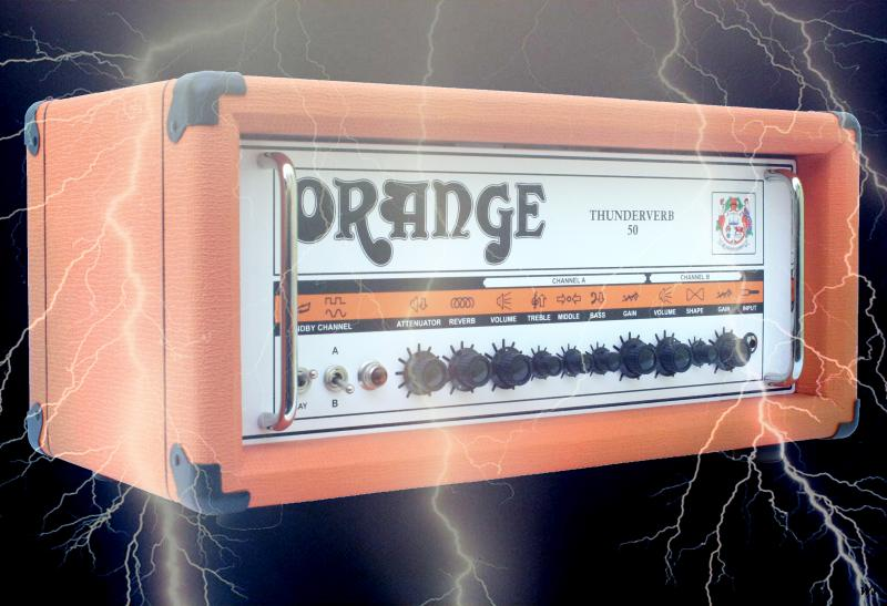 Orange Thunderverb 50 Lightning Bolt Mod