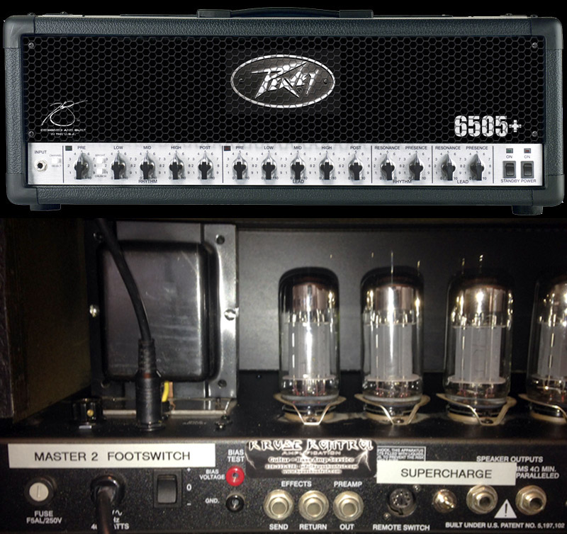 Peavey 6505 plus SuperCharge 2nd Master Volume
