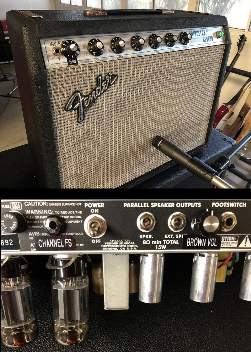Fender Princeton Reverb Brown Mod Jens Kruse Kontrol Amplification Amps
