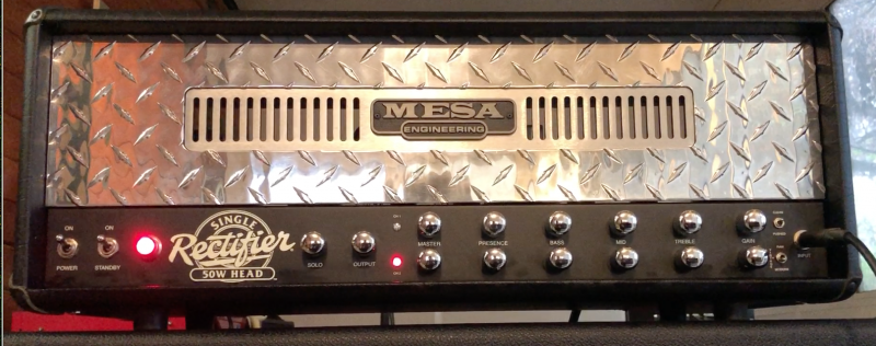 Kruse Kontrol Mesa Boogie Single Rectifier Rectoverb Mod