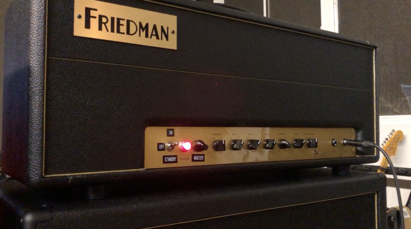 Friedman BE100 Mod Jens Kruse Kontrol Amplification Amps