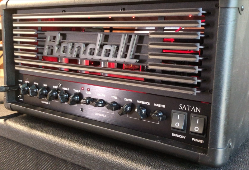 Randall Satan Mod by Jens Kruse of Kruse Kontrol Amplification