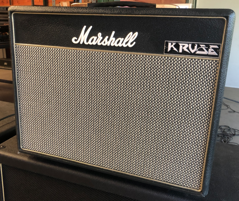 Marshall CLASS 5 High Gain Brown Mod Jens Kruse Kontrol