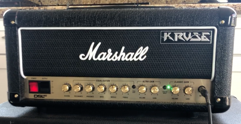 Marshall DSL20 Brown Mod Kruse Kontrol