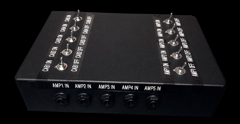 KRUSE amp cab switching router selector Unit 5