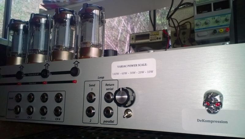 Diezel VH4 Variac Power Scale Mod